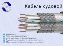 Кабель судовой КПЭВС